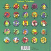 Mireille l'abeille - 4ème de couverture - Format classique