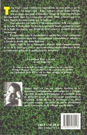 L'Honneur Perdu Des Super Heros - 4ème de couverture - Format classique