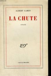 La Chute. - Couverture - Format classique