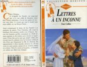 Lettres A Un Inconnu - Letters From Home - Couverture - Format classique