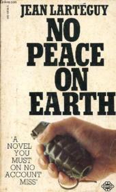 No Peace On Earth - Couverture - Format classique