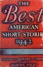 The Best American Short Stories, 1942 - Couverture - Format classique