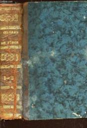 OEUVRES CHOISIES DE PIRON / en 1 SEUL VOLUME : TOME PREMIER + TOME SECOND. - Couverture - Format classique