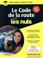 Le code de la route (édition 2019/2020) - Couverture - Format classique