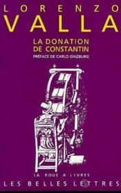Donation De Constantin (La) - Couverture - Format classique