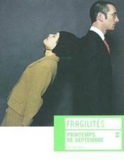 Fragilites - Couverture - Format classique