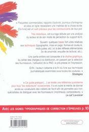 Tout reussir comm imprimee 3ed (3e édition) - 4ème de couverture - Format classique