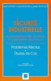 Securite Industrielle - Couverture - Format classique