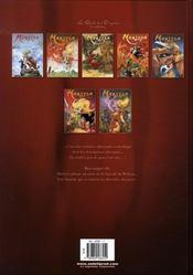Marlysa T.7 ; le Waltras t.1 - 4ème de couverture - Format classique