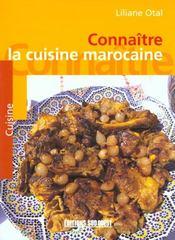 Aed cuisine marocaine (la)/connaitre - Intérieur - Format classique