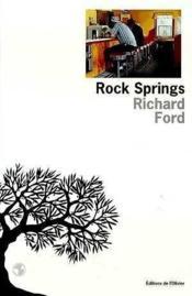 Rock spring - Couverture - Format classique
