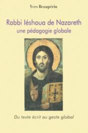 Rabbi Leshoua de Nazareth - Couverture - Format classique