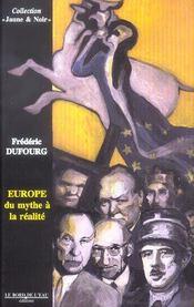 Europe:du mythe a la realite - Intérieur - Format classique