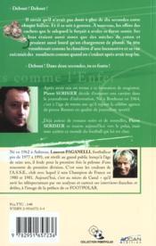 Verts Comme L'Enfer - 4ème de couverture - Format classique