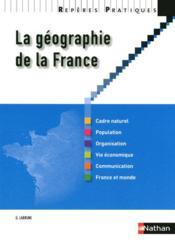 telecharger La geographie de la France (edition 2010) livre PDF en ligne gratuit