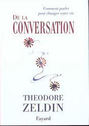 De la conversation - Intérieur - Format classique