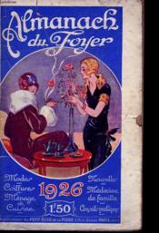Almanach Du Foyer 1926. - Couverture - Format classique