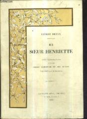 Ma Soeur Henriette - Couverture - Format classique