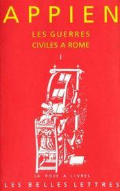 Guerres Civiles A Rome L1 (Les) - Intérieur - Format classique