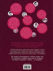 À taaable !!! 500 recettes de cuisine familiale - 4ème de couverture - Format classique