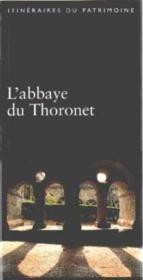 L'Abbaye De Thoronet - Couverture - Format classique