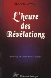 Heure Des Revelations - Couverture - Format classique
