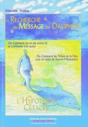 À la recherche du message des dauphins - Couverture - Format classique