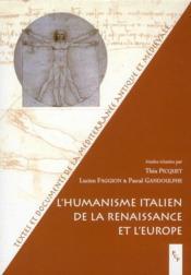 L'humanisme italien de la Renaissance et l'Europe - Couverture - Format classique