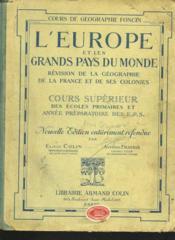 L'Europe Et Les Grands Pays Du Monde - Couverture - Format classique