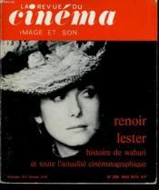 Revue De Cinema - Image Et Son N° 296 - Renoir Lester - Hitsoire De Wahari Et Toute L'Actualite Cinematographique - Couverture - Format classique