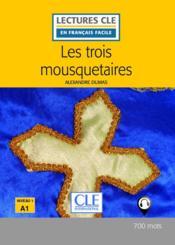 Les 3 mousquetaires fle lecture 2e edition - Couverture - Format classique
