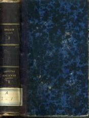 Oeuvres Completes De Rollin - Histoire Ancienne Tome 1. - Couverture - Format classique