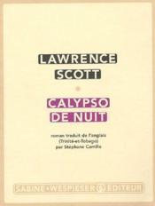 Calypso de nuit - Couverture - Format classique