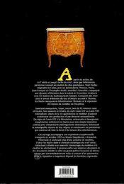 Hache - ebenistes a grenoble - 4ème de couverture - Format classique
