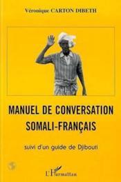 Manuel De Conversation Somali-Francais - Couverture - Format classique