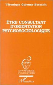 Être consultant d'orientation psychosociologique - Intérieur - Format classique