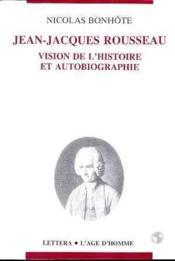 Jean Jacques Rousseau - Couverture - Format classique