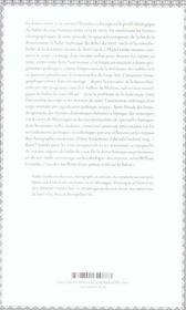 La Danse Comme Texte - 4ème de couverture - Format classique