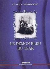 Le démon bleu du tsar - Couverture - Format classique