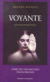 Voyante ; Vivre Avec Des Facultes Paranormales - Intérieur - Format classique