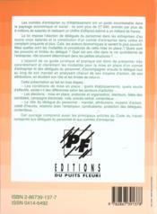 Les representants du personnel. delegue du personnel, comited'entreprise, delegu - 4ème de couverture - Format classique
