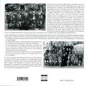 Du college royal-bourbon au lycee du sacre-coeur, 1603-2003 - 4ème de couverture - Format classique