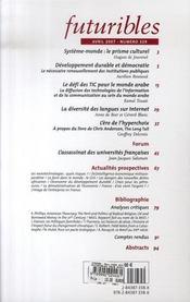 Developpement Durable ; Repenser La Democratie - 4ème de couverture - Format classique
