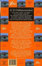 Jardin dans l'ile et autres nouvelles (le) - 4ème de couverture - Format classique