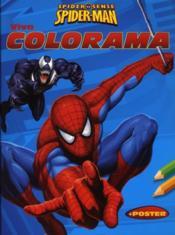Spiderman viva colorama - Couverture - Format classique
