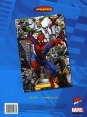 Spiderman viva colorama - 4ème de couverture - Format classique
