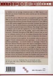 L'intertexte à l'oeuvre dans les littératures francophones (2e édition) - 4ème de couverture - Format classique