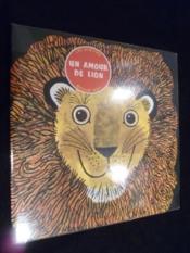 Un amour de lion - Couverture - Format classique