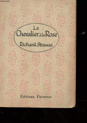 Le Cavalier A La Rose - Couverture - Format classique