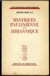 Mystiques Paulinienne Et Johannique - Couverture - Format classique